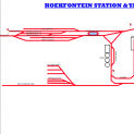 Hoekfontein Station & Yard