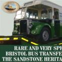 Rare and very special Bristol Bus transferred to the Sandstone Heritage Trust
