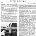 David Shepherd CBE