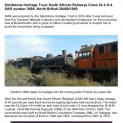 Sandstone Heritage Trust South African Railways