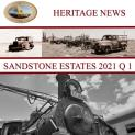 Welcome to our first Heritage News for 2021
